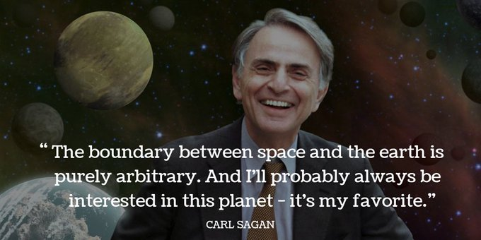 Ours, too. Happy birthday, Carl Sagan.   ( credit: