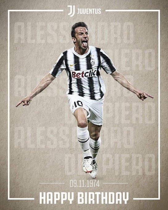 Happy birthday, Alessandro Del Piero  Champion, legend, symbol