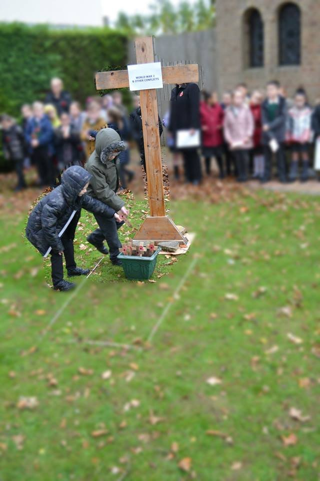 test Twitter Media - We are very proud of how the children took part in our Act of Remembrance this morning. They observed the 2 minutes silence with great respect. Year 3 read beautifully and placed crosses to remember the local soldiers killed in WW2. #RemembranceDay2018 https://t.co/cnqB0OCmME