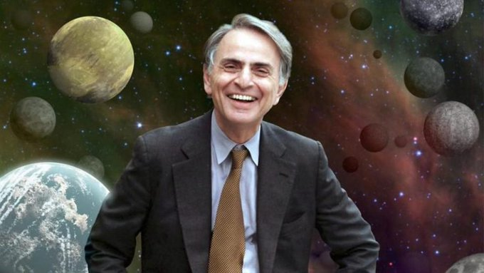 Happy Birthday to Carl Sagan.  BTD in 1934.  We miss you, Carl!