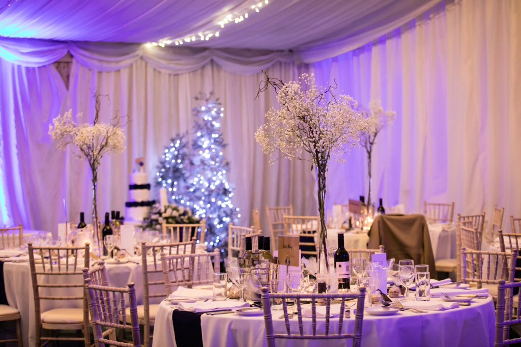 test Twitter Media - Winter Wonderland... ❄️ We are so excited for our Marquee to be turned into a Winter Wonderland for our Christmas festivities! 🎄  📸: Rob Freeman Photography . #welshwedding #cottrellpark #winterwedding #christmaswedding #christmasparty #winterwonderland #marqueewedding https://t.co/1MOYDuCiAe