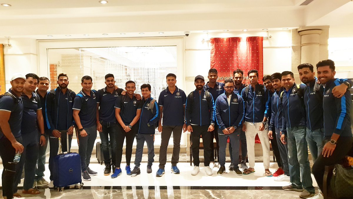 India A are off to New Zealand. All the best boys! #TeamIndia https://t.co/gFYAWDICap