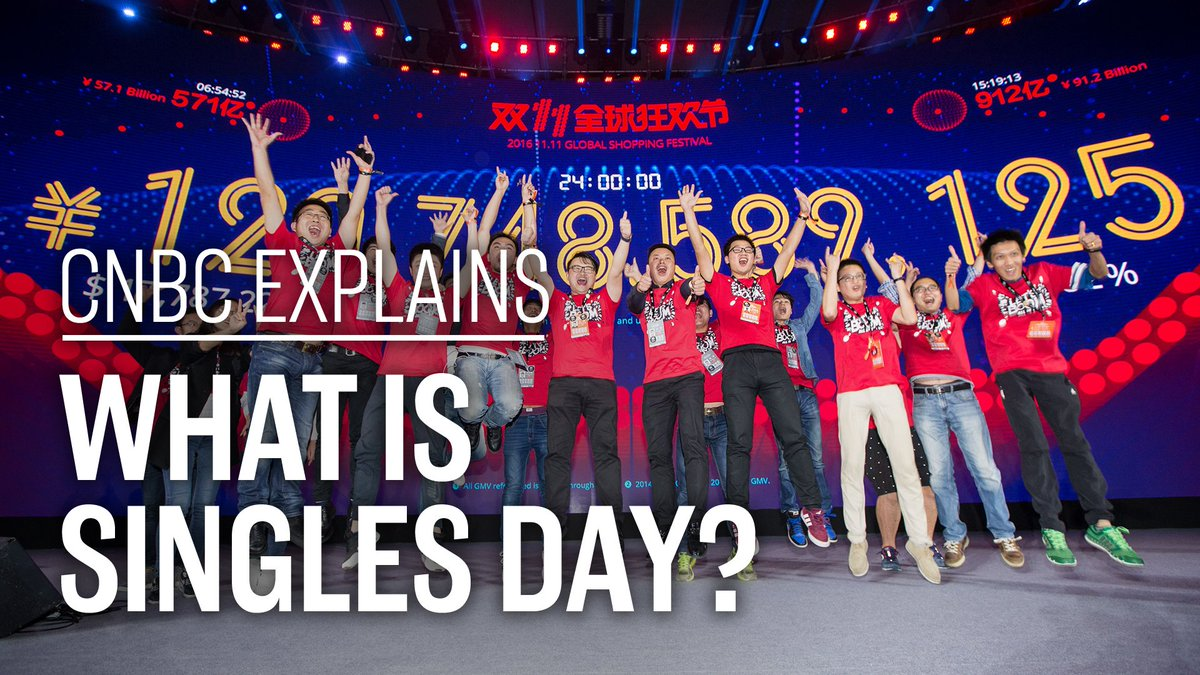 Singles Day is the biggest online shopping day in the world. So how did the multibillion-dollar mega-event get so big? 🛍 (via @CNBCi)