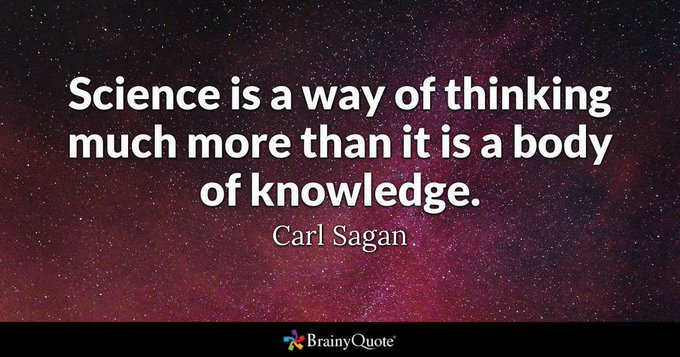 Happy Birthday! Carl Sagan was a great science communicator and inspiration for so many.