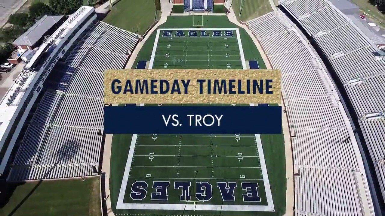 🏈 GAMEDAY TIMELINE | GS vs. Troy 🦅 See you tomorrow, #EagleNation! https://t.co/7N5wE4wGhI