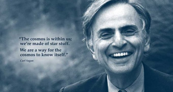 Happy 84th birthday to Carl Sagan, one of the best astronomers in history!