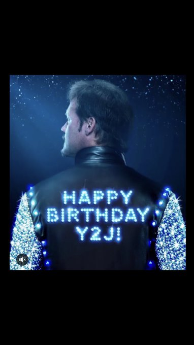 happy birthday Chris Jericho!!!