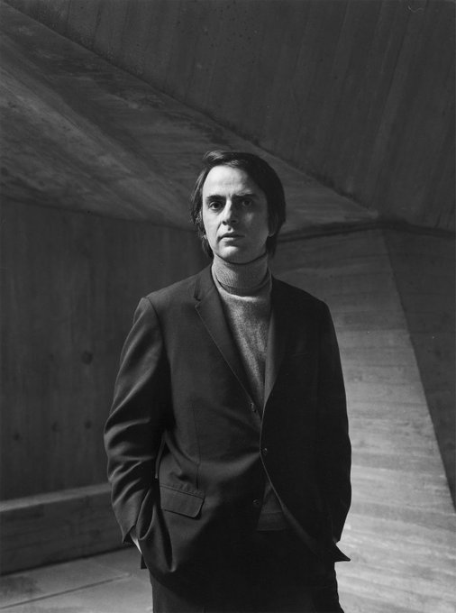 The man. The myth. The legend. Happy birthday Carl Sagan.