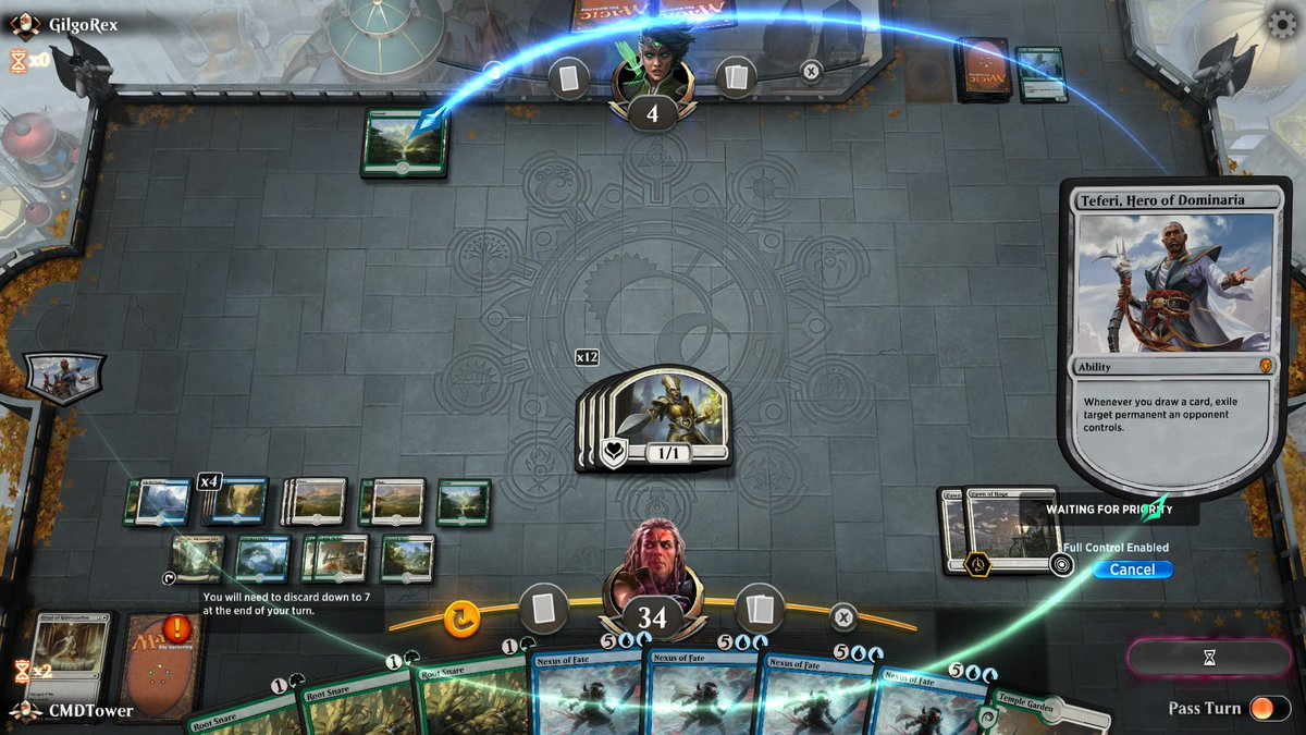 test Twitter Media - Turbo Fog for the win!  #MTGArena #MTG https://t.co/iCgDjfVugO