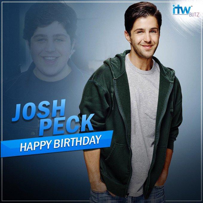 Wishing the Drake and Josh actor Josh Peck a very happy birthday!