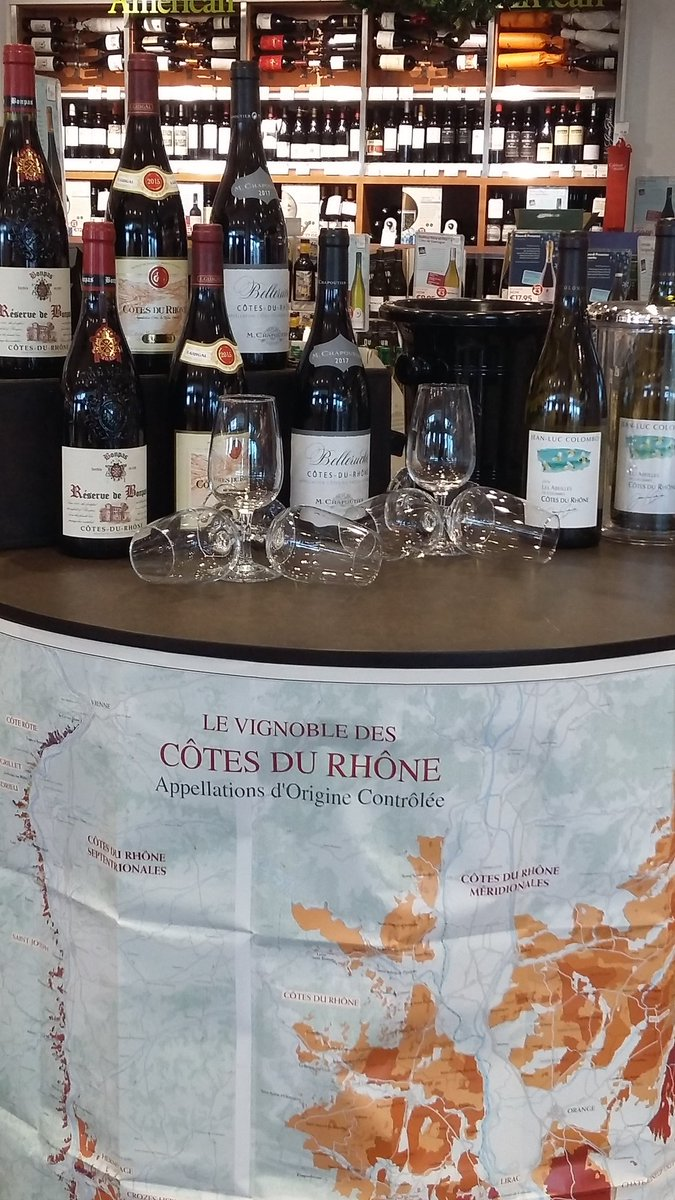 It's all about #RhoneWine this weekend  @RhoneWineWeek .... try before you buy (^Galway) https://t.co/W5fufOg7qJ