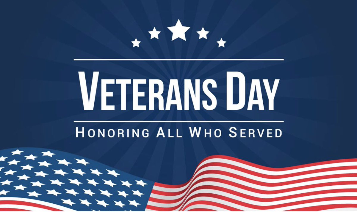 We honor all of the brave men and women who have served our country - this weekend and always.