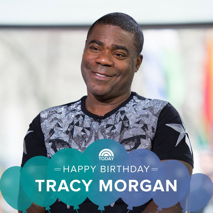 Happy 50th birthday, Tracy Morgan!