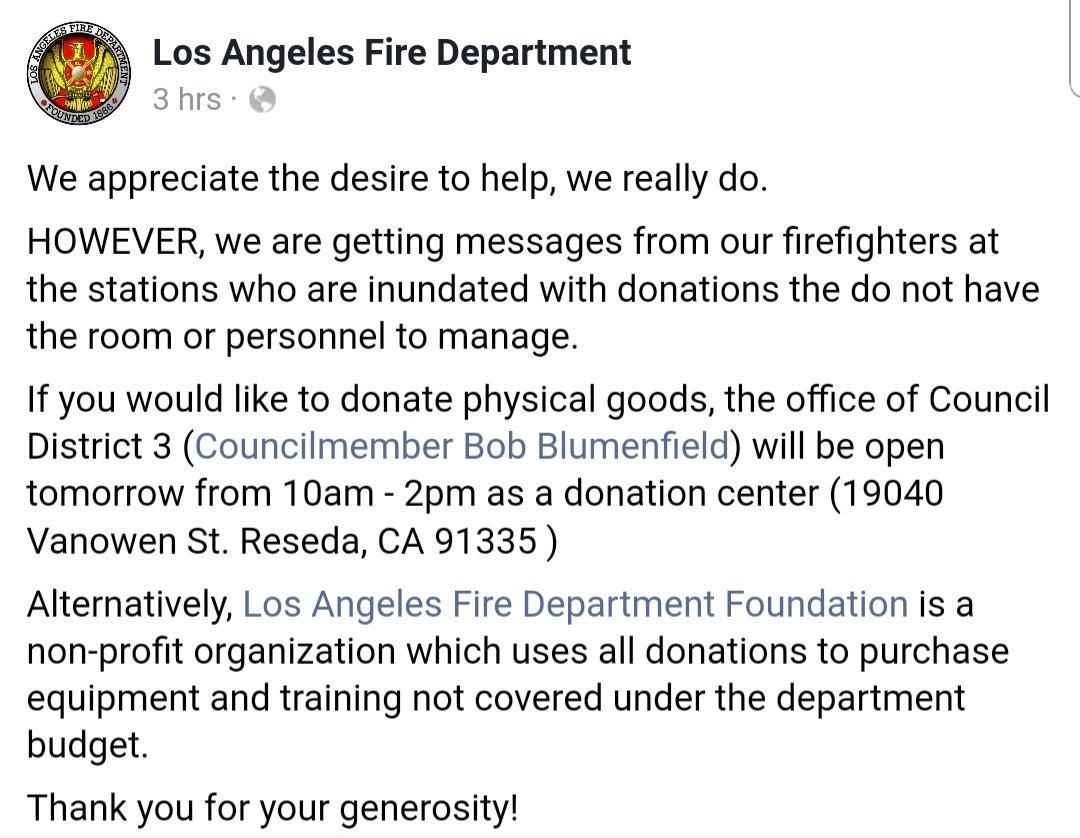 RT @tinocrane68: . Please Read ...#WoolseyFire #LAFD @H_Combs @Alyssa_Milano @ericcolsen https://t.co/vqCPNAk2n3