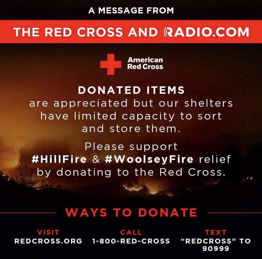 RT @Meghan_Trainor: Any amount helps ????????????????#WoolsleyFire #hillfire https://t.co/KYVPcXsoS9 https://t.co/fEJ1TL01Bq