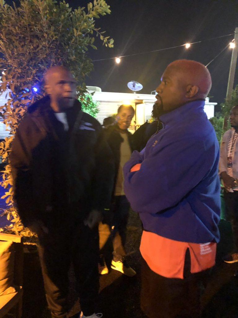RT @Real923LA: #Kanye gave @bigboy the jacket off his back 🥰 #CampFlogGnaw https://t.co/gXzrHStp9T