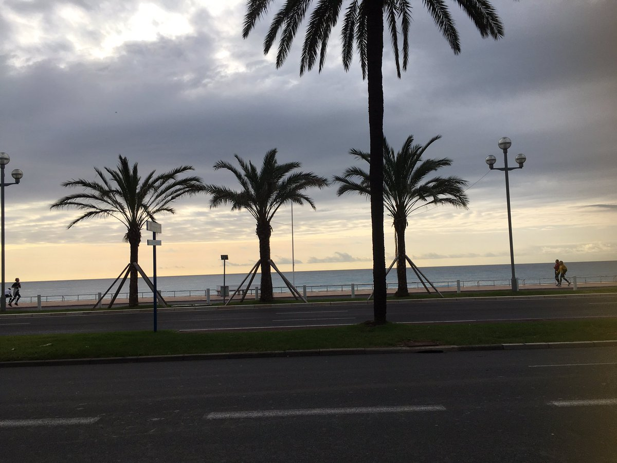 Bus stop in #Nice on my way to #
