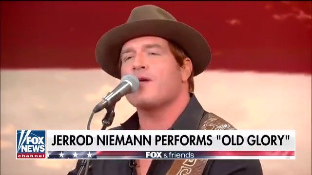 ".@jrodfromoz performs his patriotic new song, ""Old Glory"" LIVE on FOX & Friends"