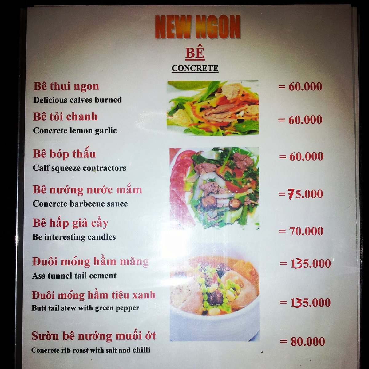 test Twitter Media - Hanoi menu: Tweet by Dan Okrent: Menu translation, Hanoi https://t.co/VgtJWTkOuU — Dan Okrent (@okrent) November 12, 2018 I can't solve all the Vinglish mistranslations on this page, but the one at the very top, which serves as the heading for this… https://t.co/hZ4xxHpf32