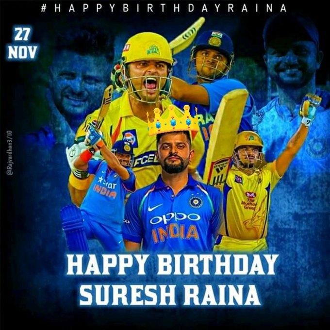 Happy birthday Suresh Raina Actuall T20 player