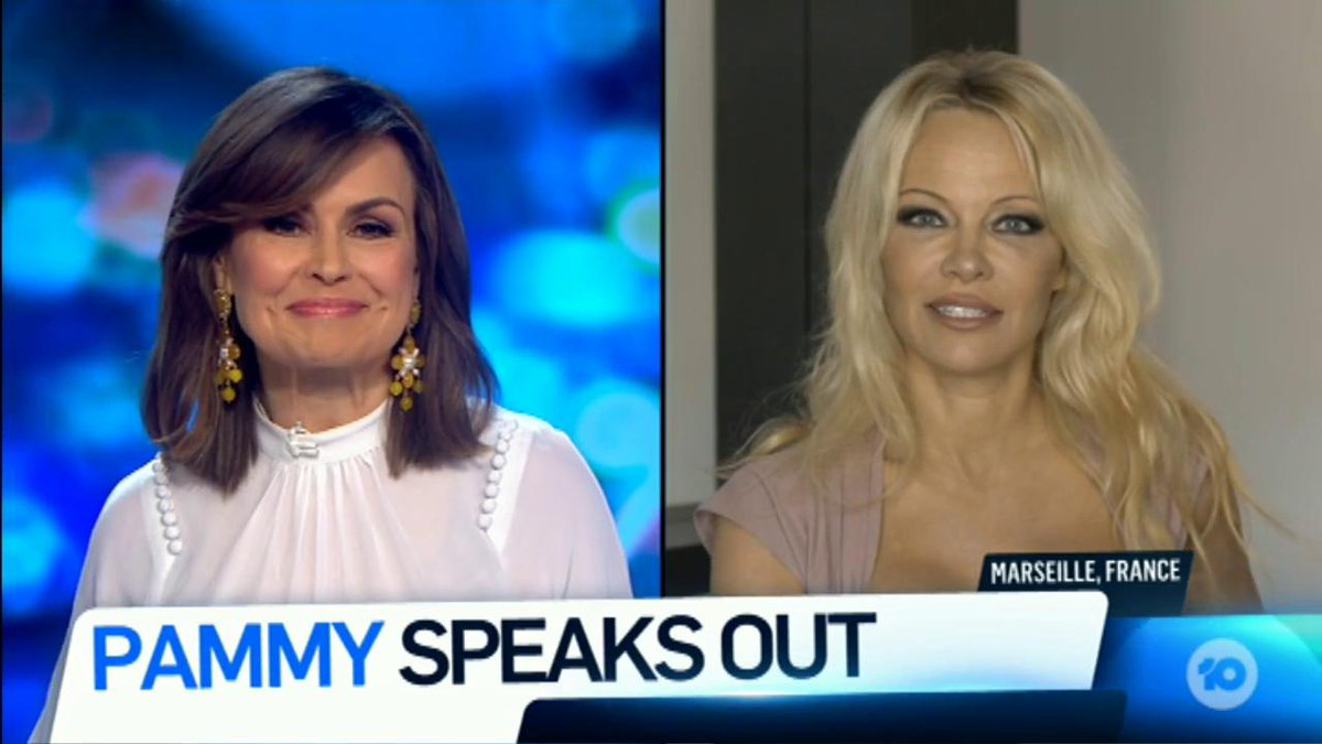 RT @theprojecttv: We speak to Pamela Anderson about the fallout from her letter to ScoMo. #TheProjectTV https://t.co/oRb9iZ9jS2