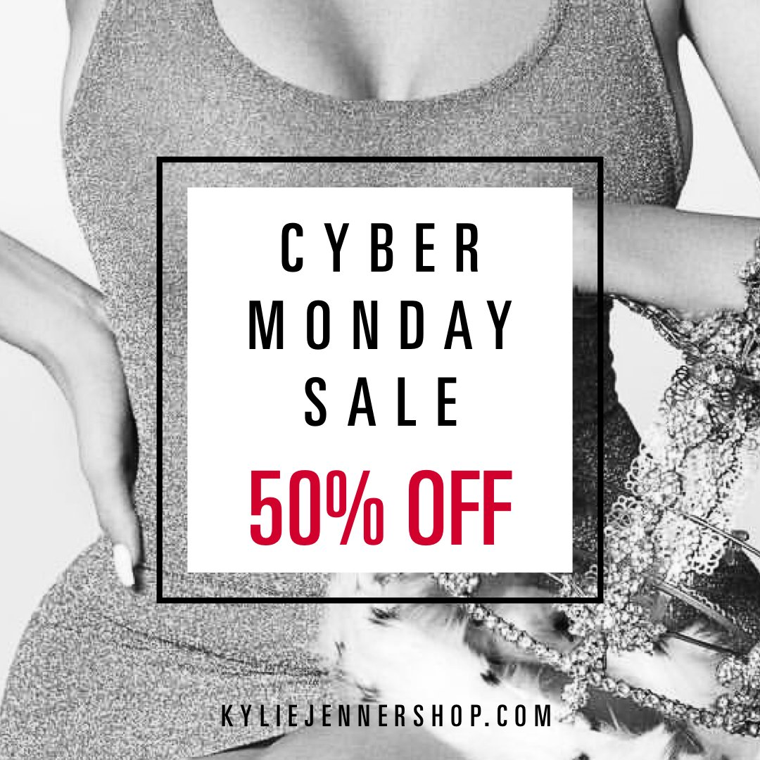 50% off all merch! Cyber Monday sale just started at https://t.co/JShZv2Eb61 https://t.co/YoEa2OCBPp