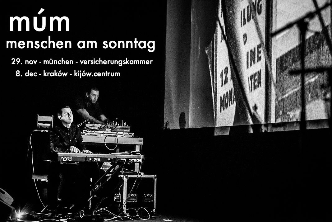 test Twitter Media - múm are bringing their Menschen am Sonntag performance to München and Kraków. For over 4 years now, this project has been very popular and been performed all over Europe, but these might be some of the last shows: 19 nov München @VKB_Presse  8. dec Kraków @KijowCentrum https://t.co/jTluW1oBVu