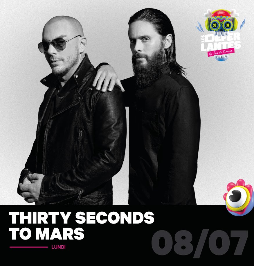 RT @30SECONDSTOMARS: New Show! We'll be seeing you soon France!  https://t.co/jZ0KoGNWTQ https://t.co/HeDcHbT6Y8