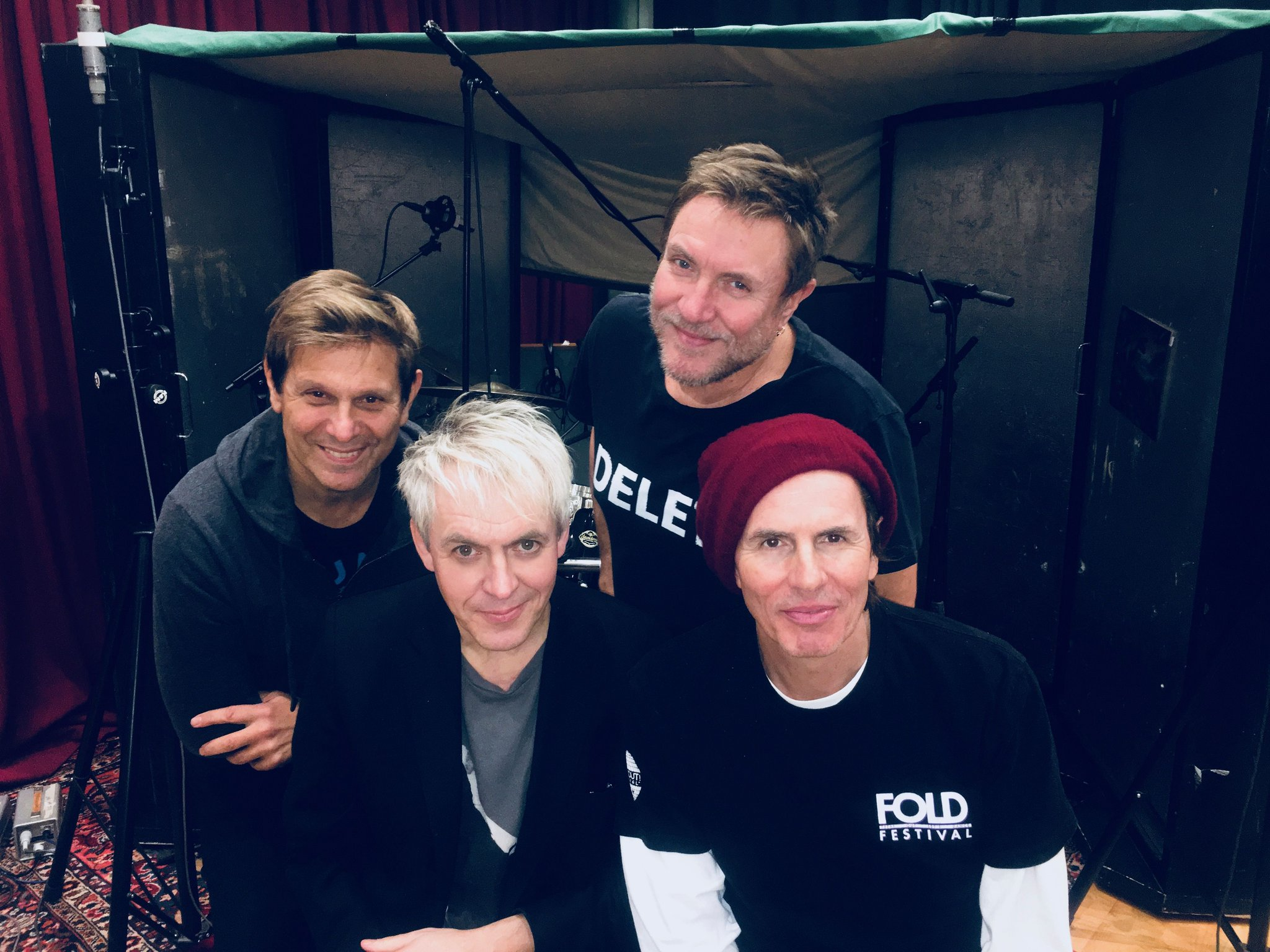 @duranduran 2018,  in the studio working on new music.  #DD2018 https://t.co/ey1kbBaUXe