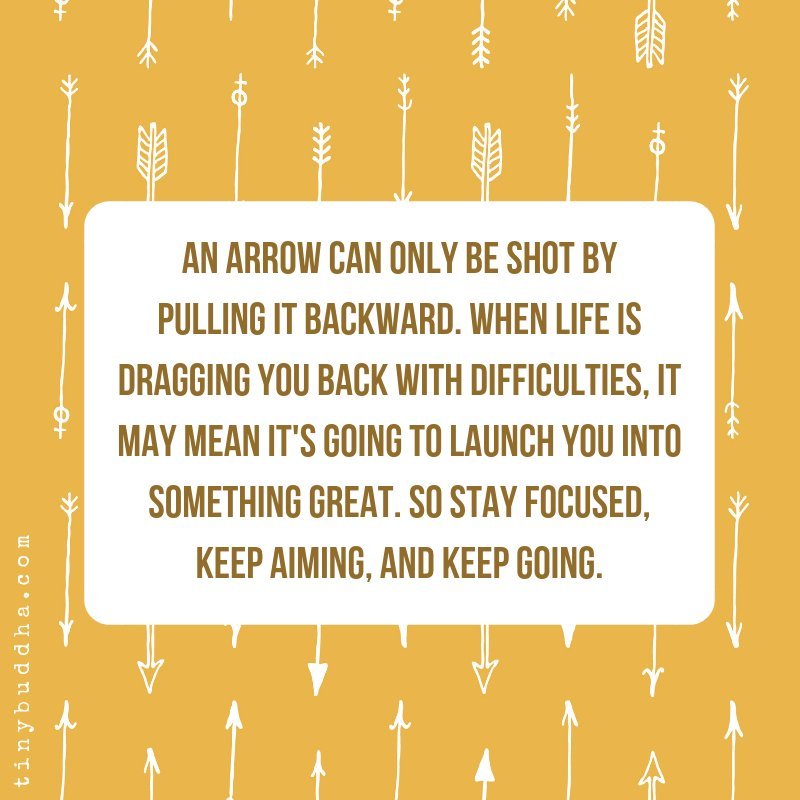 An Arrow Can Only Be Shot By Pulling It Backward When: An Arrow Can Only Be Shot By Pulling It Backward. When