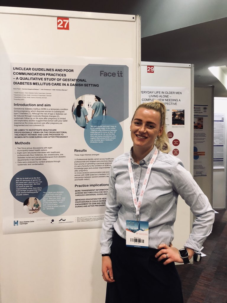test Twitter Media - Anne Timm presenting the results of her thesis at the #icbm2018 highlighting the need for universal guidelines and improved communication across sectors for care for women with prior #gestationaldiabetes @Stenodiabetes https://t.co/d93seFIUlp