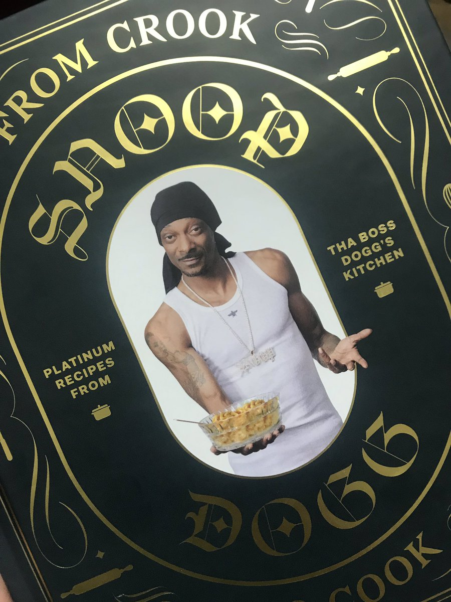 RT @lindamvasquez: I'd like to thank god and @SnoopDogg for this meal ???????? #FromCrookToCook https://t.co/TZZtrGOmMK