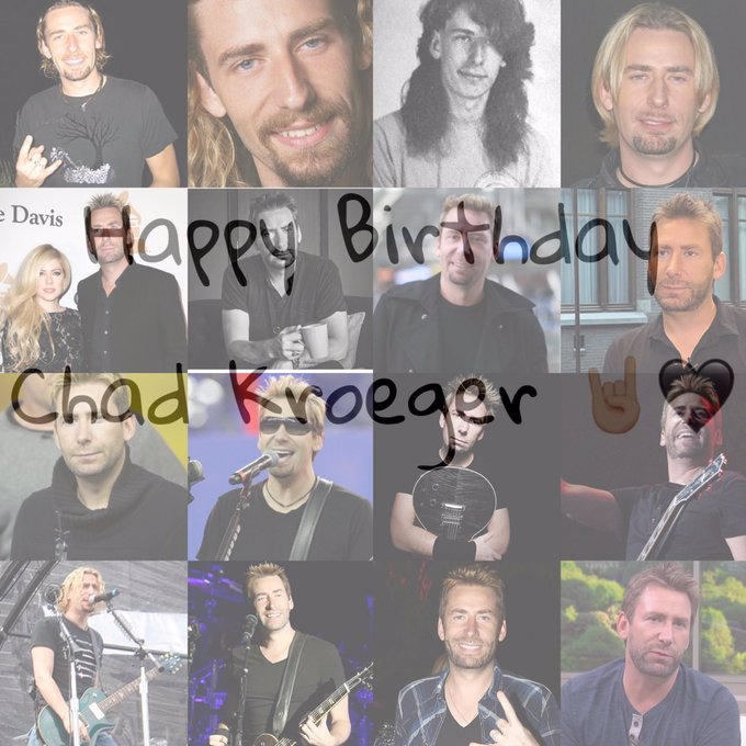 happy Birthday to the one and only Mr. Chad kroeger