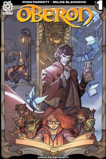 'Oberon' brings a dark fairy tale to comics