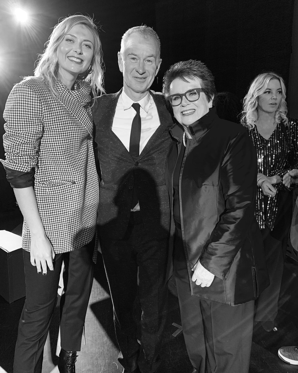 Honored to have been a part of Billie Jean King's 75th Birthday Tribute last night https://t.co/lFdvJjZPEp