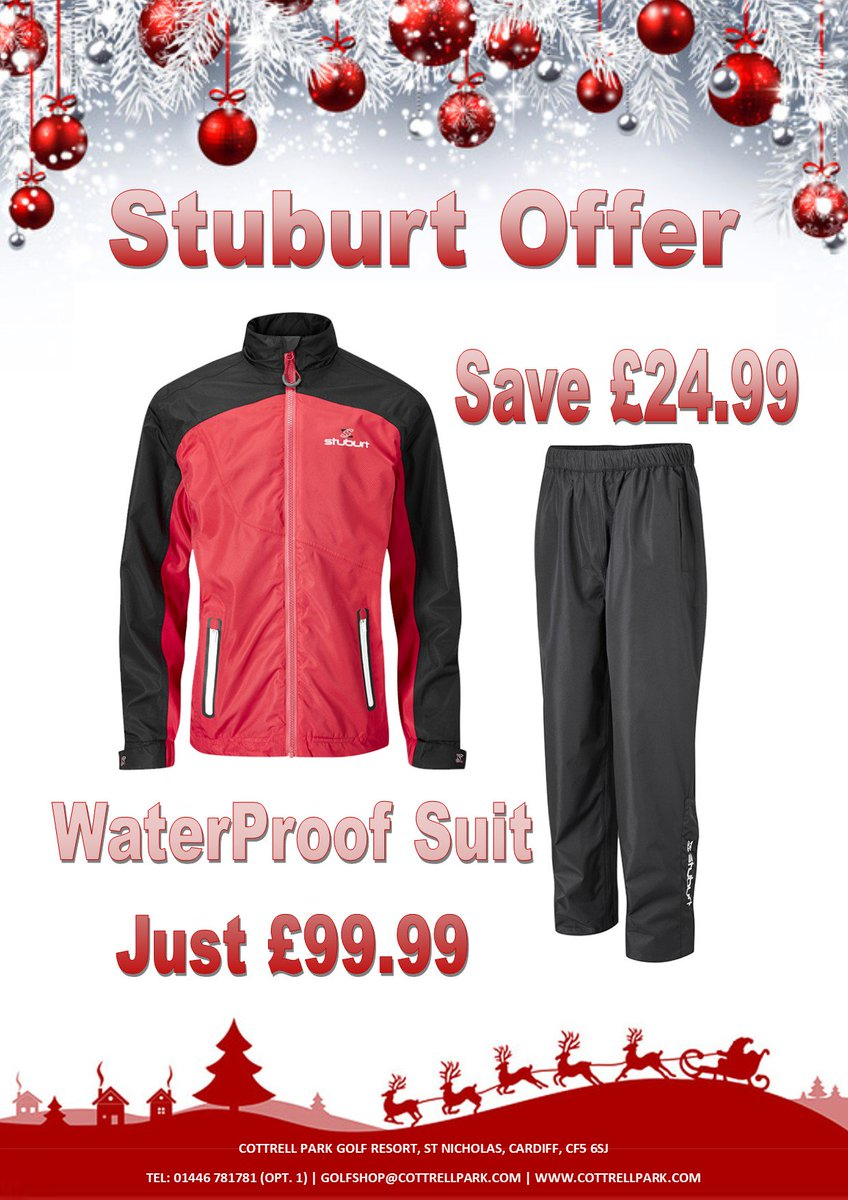 test Twitter Media - #winteriscoming   It's getting cold out there! Make sure you're ready for the wet and windy conditions.  Full @stuburt waterproof suit with 2yr warranty just £99.99.  Plus all the necessary accessories to keep you warm, including beanies, mitts, etc.  Tel: 01446 781781 https://t.co/3p2N4J5VVo