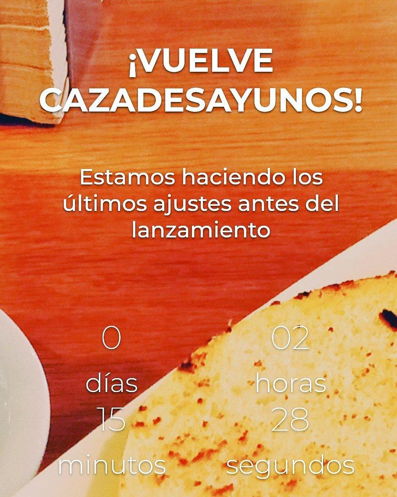 test Twitter Media - RT @cazadesayunos: #Hoynoesunjuevescualquiera ¿Por qué? #Cazadesayunosvuelve Entérate el primero!!! ❤️ #desayuno https://t.co/BliMS8eS9I