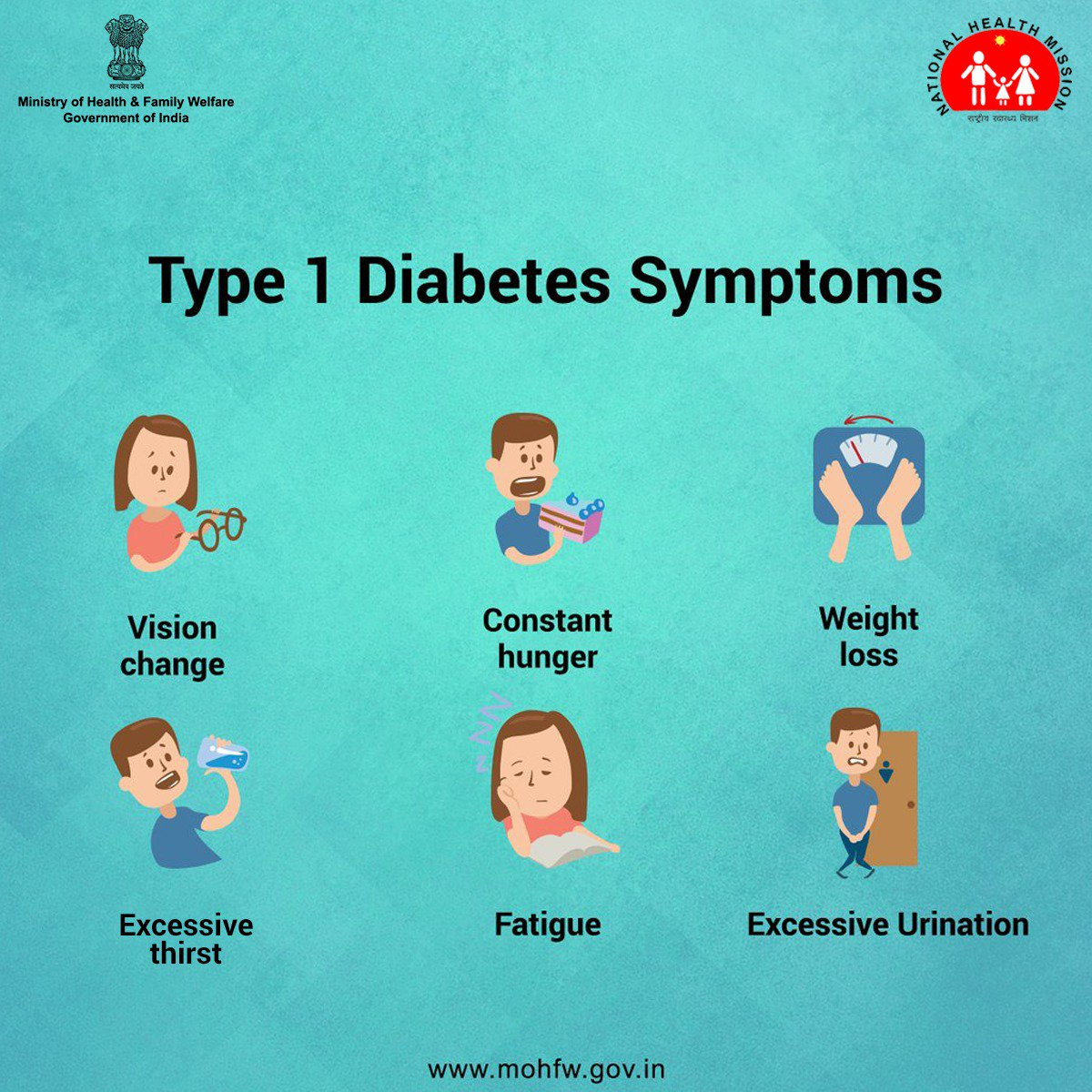 test Twitter Media - #Diabetes leads to many other fatal diseases. Act in time, if you experience any of these symptoms, seek help from your doctor immediately. https://t.co/78L7M1cq0y #BeatNCDs #SwasthaBharat https://t.co/tzRFhLCKBu