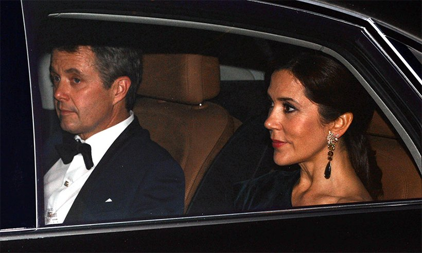 All the photos of the royal guests arriving at Prince Charles' 70th birthday last night: