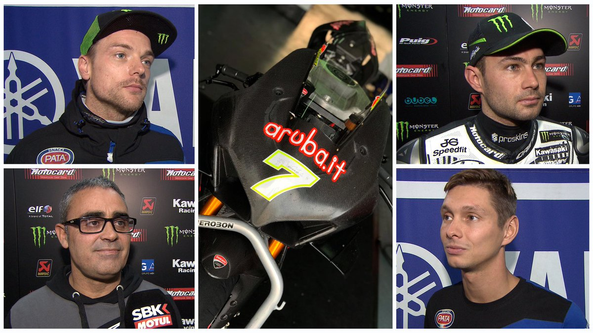 test Twitter Media - We've seen it out on track, but what do #WorldSBK riders think of the V4 R?  📹 INTERVIEWS | #WorldSBK https://t.co/LscoWmDtXP https://t.co/RssZYnmMse
