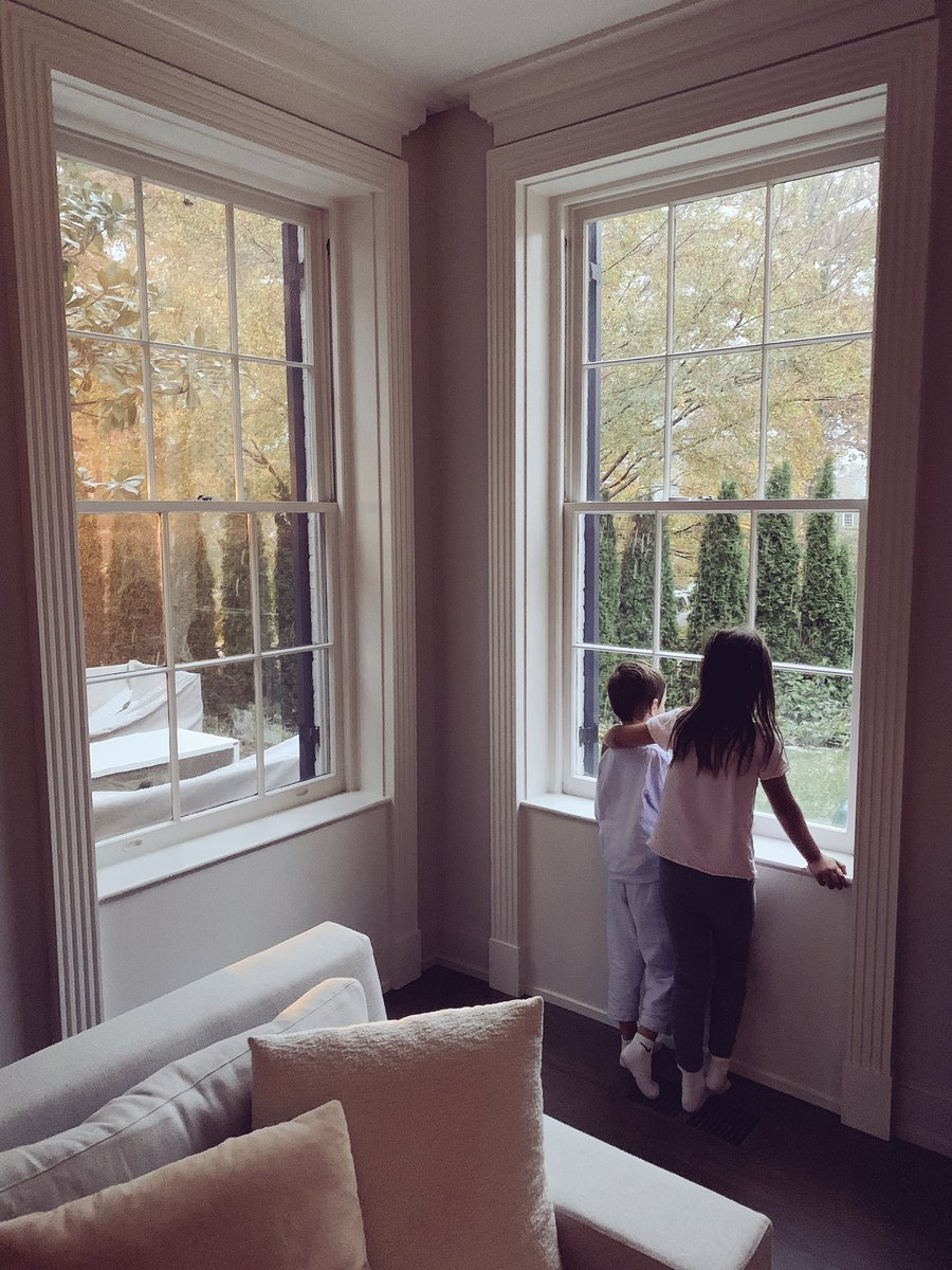 The joy and wonder of watching the season's first snowfall! https://t.co/BsS7vi5IqK