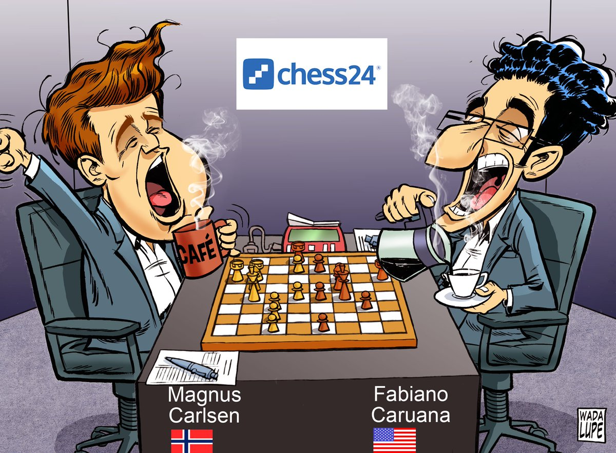 test Twitter Media - Will things live up at the #CarlsenCaruana match today? In Game 5 Caruana has White before playing Black twice in a row in the next two games! https://t.co/jJhijkM6wK #c24live https://t.co/ZFcCQ9Np8p