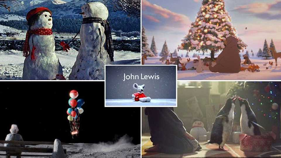 Watch ALL of the John Lewis Christmas adverts
