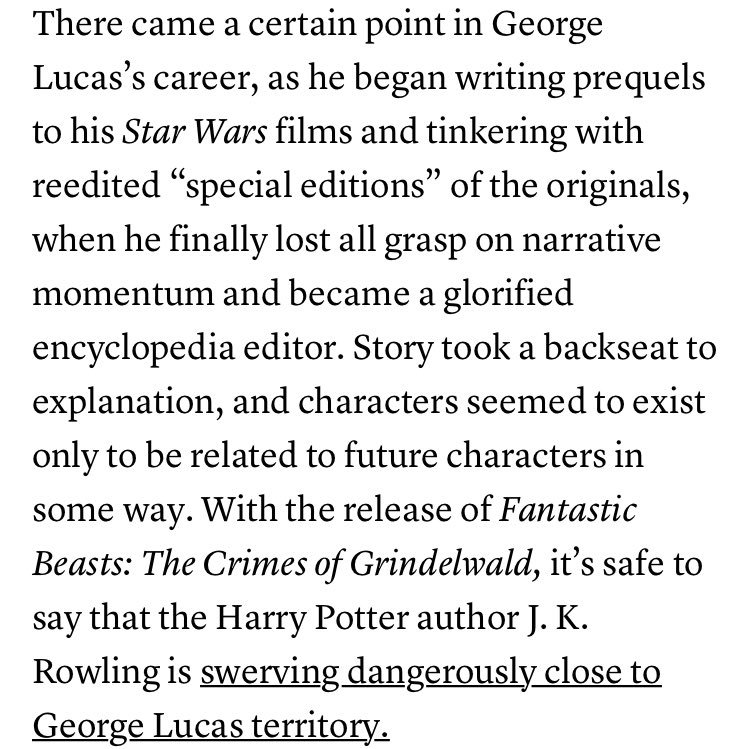 test Twitter Media - This first paragraph of @davidlsims's Fantastic Beasts 2 review. Woof. https://t.co/SDEQ31Cp0e https://t.co/1tElM5jHCS