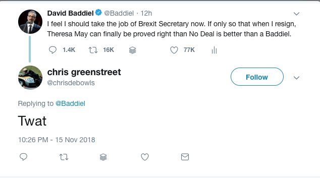 Well, unquestionably, many have liked this tweet. Others, however... https://t.co/ldIHxUWUsV