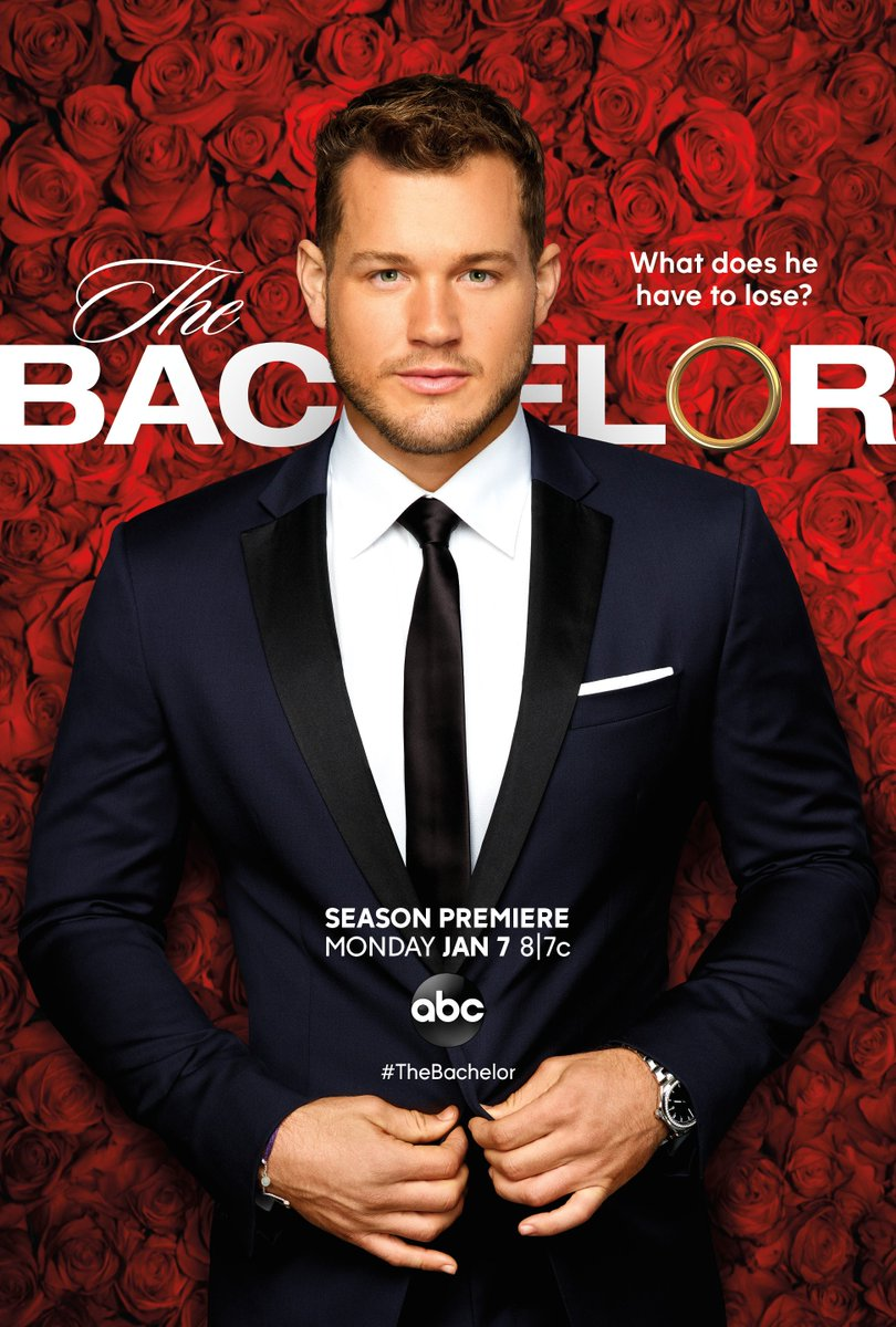 RT @BachelorABC: Colton's journey for love begins Jan 7. @chrisbharrison has your first look at #TheBachelor poster! https://t.co/vocx8Nc3Gj