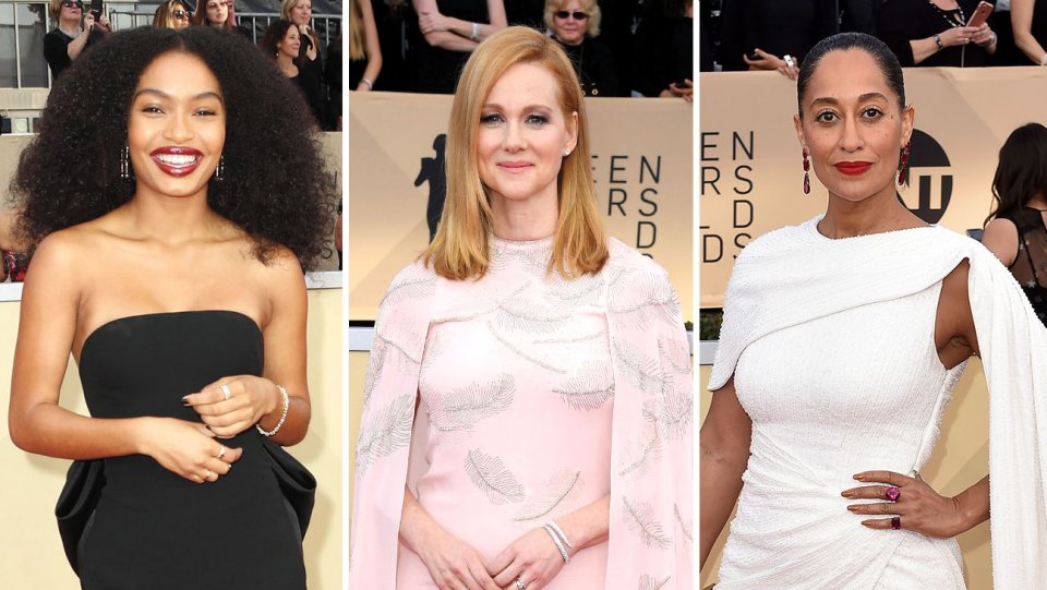 RT @thrstyle: Screen Actors Guild Awards style: Capes and trains