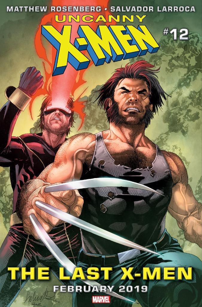 """RT @VENCOMICS_1: #Marvel #Comics   Portada de #UncannyXmen Nro. 12 """"The Last X-Men"""" a publicarse en febrero de 2019 https://t.co/lVr2vWjlOu"""