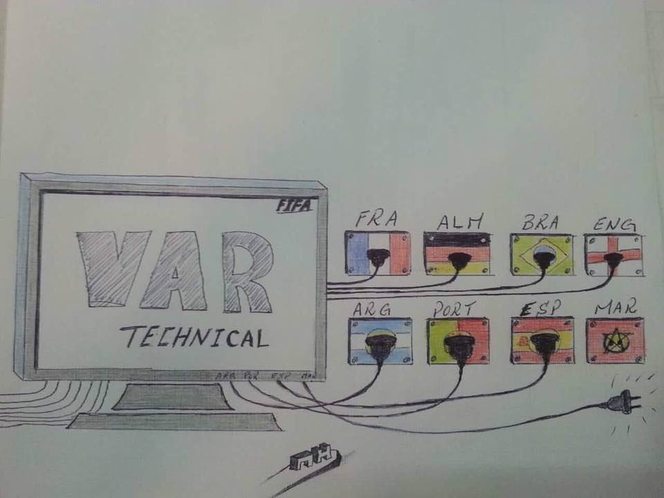 @DZFootball_en Lest we forget what #VAR meant for #Maroc #Morocco during the 2018 World Cup Russia. | #PORMAR https://t.co/crbOkWFqM6