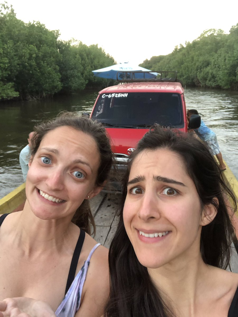 test Twitter Media - When your shuttle in Guatemala suddenly drives onto a sketchy boat and heads down the river without notice 😂 #Guatemala https://t.co/VjXnssjNue